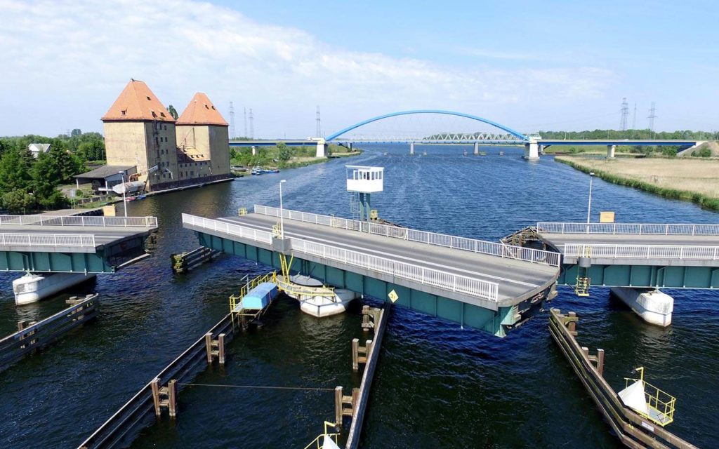 Most obrotowy wWolinie